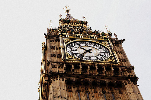 big ben, city, clock tower, london