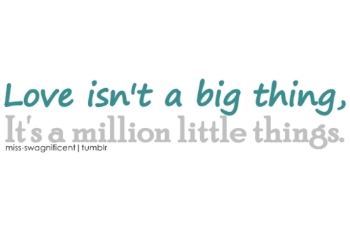 big, love, million, small, text, thing, things, typo, typography