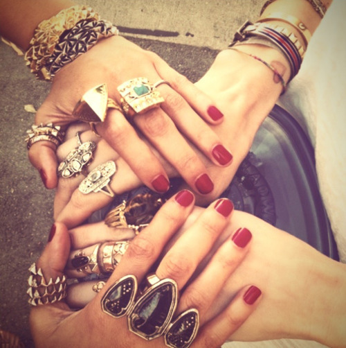bitch, bracelet, bracelets, britches, edge, fashion, finger, fingers, fuck yeah, funk, hand, hands, jewelry, nail, nail polish, nails, perfect, perfection, polish, polishes, retro, ring, ring girl nails, rings, style, vintage, young