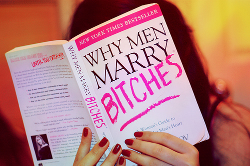 bitches, book, guide, marry, men