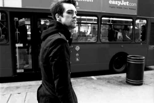 black & white, black and white, brendon boyd urie, brendon urie, guy
