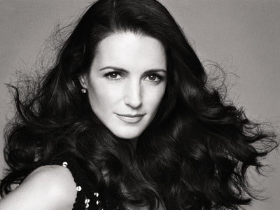 black and white, brunette, kristin davis, photography, pretty