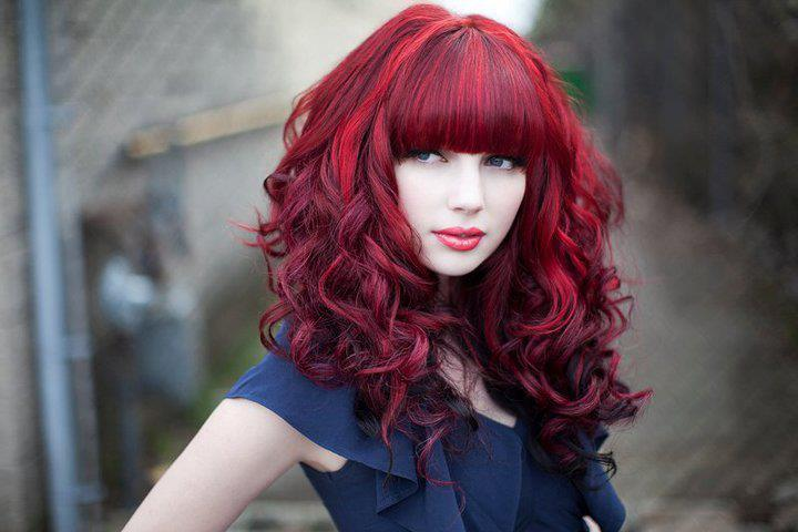 Red hair with white highlights trendy hairstyles in the usa red hair with white highlights pmusecretfo Image collections