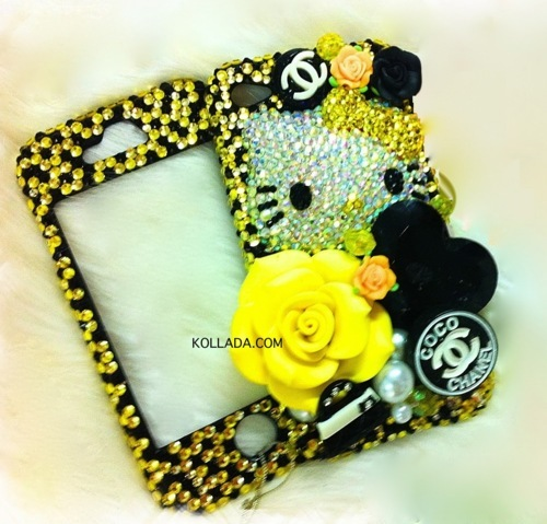 black, black & white, bling, bling bling, bling phone case