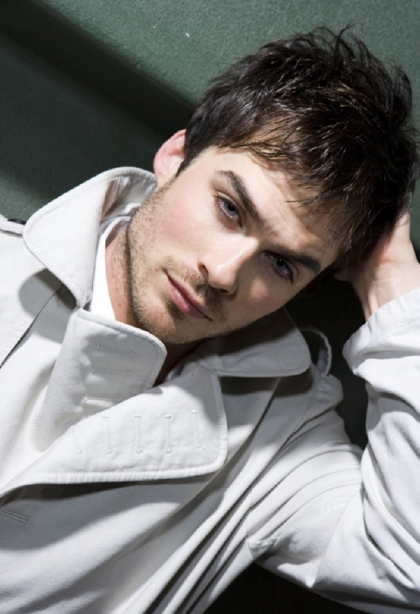black, blue eyes, clothes, cute, damon salvatore