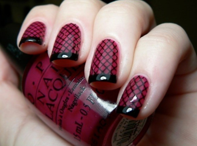 black, brocade, checkered, checkered pattern, colorful, colors, cute, fashion, fingernails, girly, glossy, manicure, nail art, nail painting, nail polish, nailart, nails, nails fashion, nails style, paned, pattern, pretty, purple, style