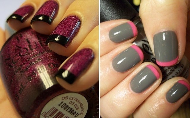black, brocade, colorful, colors, cute, fashion, fingernails, girly, glossy, gray, grey, manicure, nail art, nail painting, nail polish, nailart, nails, nails fashion, nails style, pattern, pink, pretty, purple, style