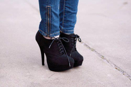black, fashion, heels, high heels, hipster