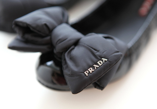 black, fashion, photography, prada, ribbon