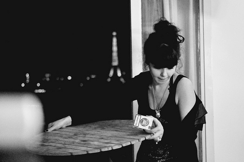 black hair, cigarettes, girl, paris