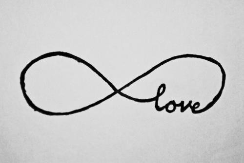 black, infinitive, love