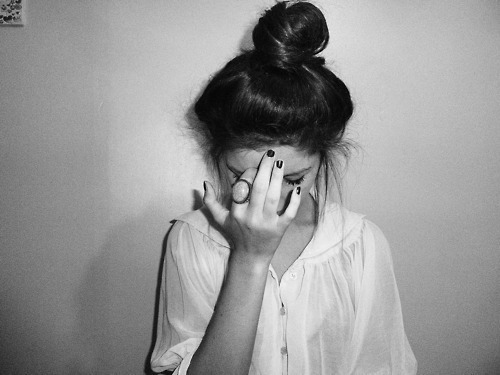 black white, girl, hair, ring, thin