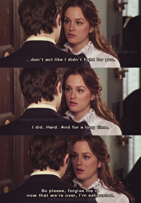 blair quote gossip girl and Chuck