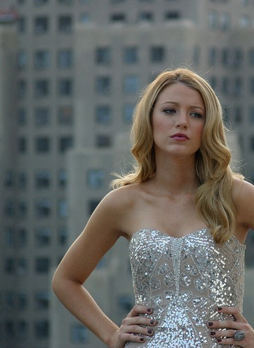 blake, blake lively, blonde, celebrities, dress, gossip girl, pretty, silver