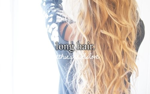 blonde, curls, long hair, the things girls love, things girls love
