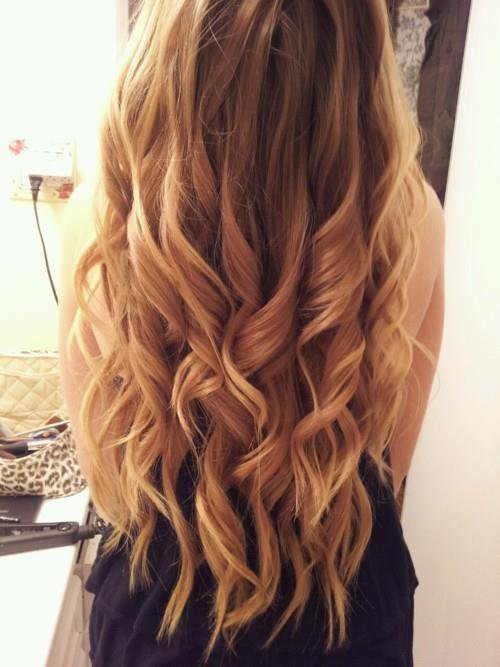 blonde, curly hair, hair, long hair