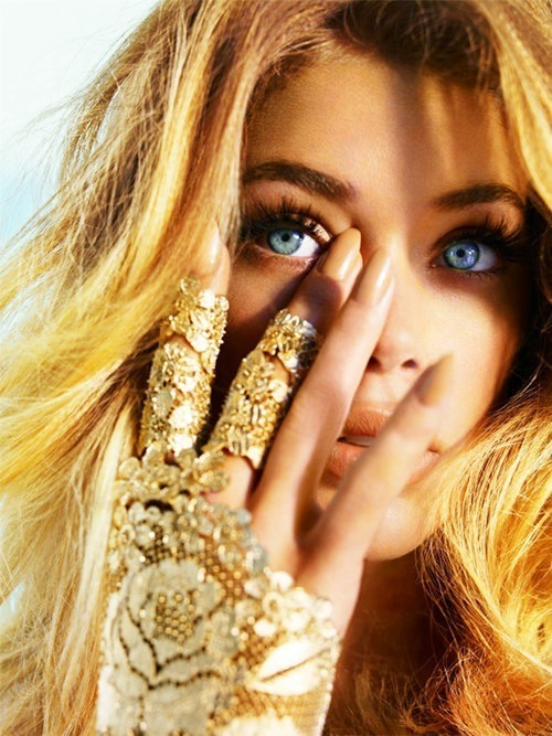 blonde, doutzen kroes, eyes, girl