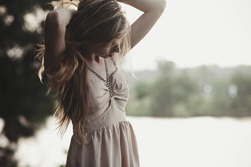 blonde, dress, fashion, girl, gorgeous, pink, pretty, style