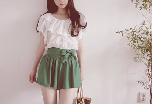 blouse, cute, fashion, girl, green