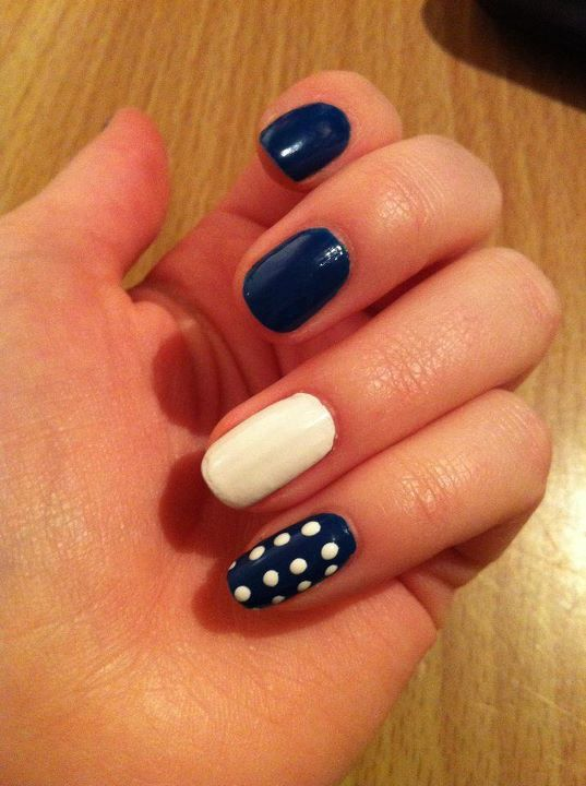 blue, blue nails, fashion, finger nails, nails