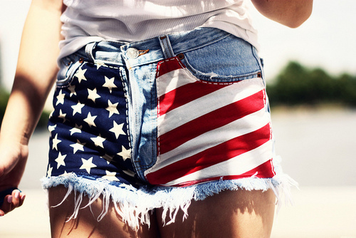 blue, clothes, fashion, red, short, shorts, usa, usa shorts