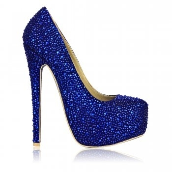 blue, cold, cute, diamonds, heels