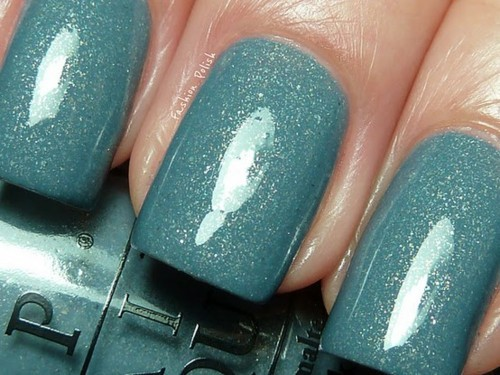 blue, cute, glitter, nail polish, nail varnish