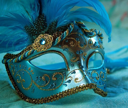 blue, feathers, fun, glitter, mask, masquerade, party, sparkle