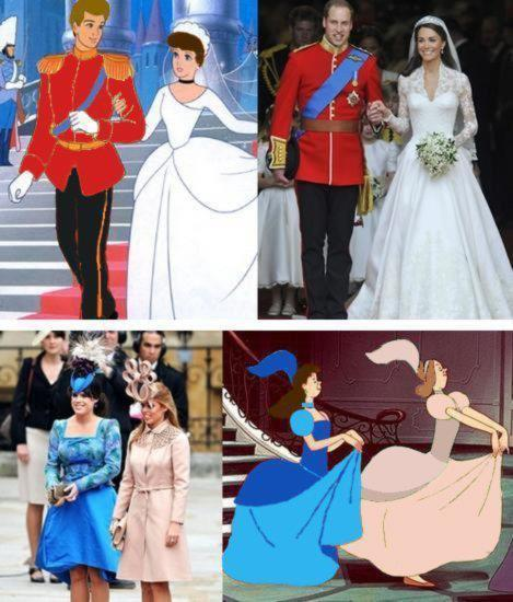 blue, funny, kate middleton, oh the irony, pink, prince, prince william, princess, wedding, white