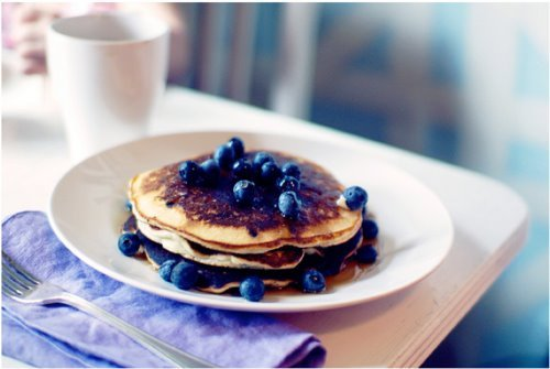 blueberries, breakfast, cute, eat, effect