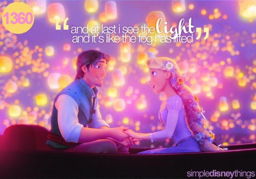 boat, disney, film, flynn rider, light, lights, movie, phrase, quote, rapunzel, romantic, simpledisneythings, tangled