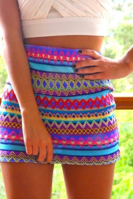 body, bohemian, colorful, colours, fashion, girl, legs, nails, skinny, skirt, thin, thinspiration
