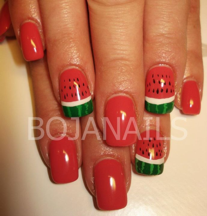 bojanails, cool, cute, fashion, fruit