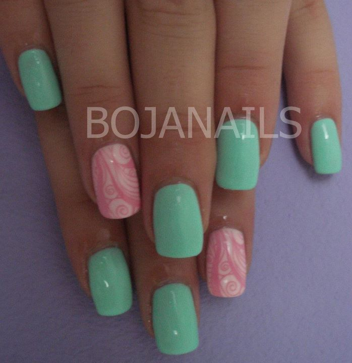 bojanails, cool, cute, fashion, gel nails