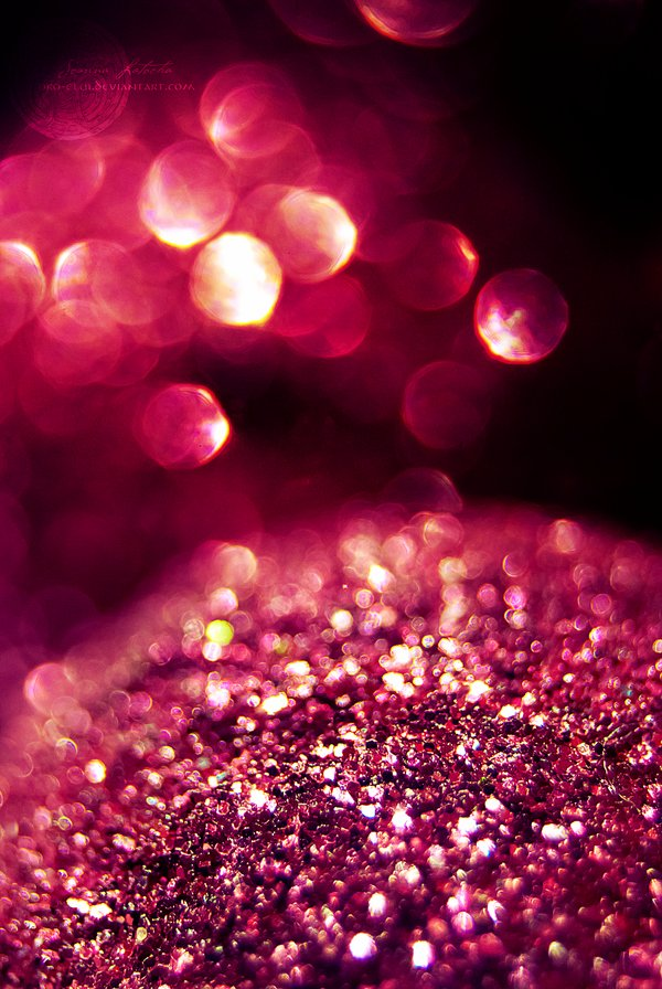 bokeh, glam, glitter, macro, pink
