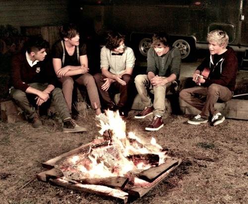 bonfire, boys, cute, guys, one direction