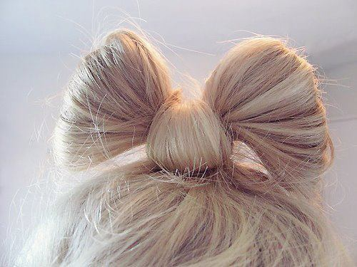bow, cute, hair, hair style