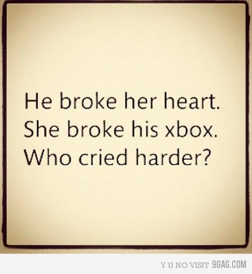 Boy Broken Heart Couple Funny Girl