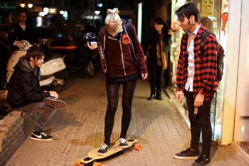 boy, canon, girl, photography, skate
