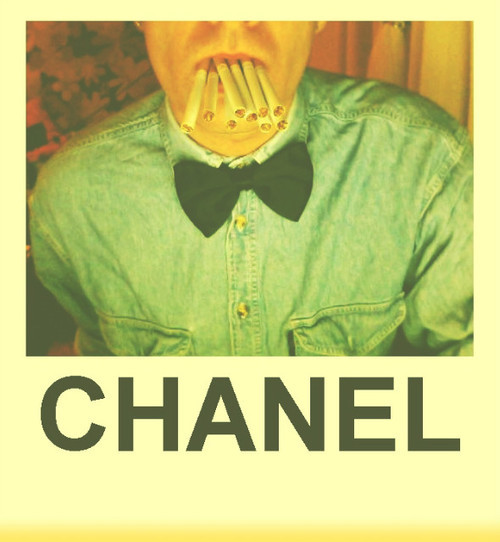 boy, chanel, cigarette, cigarettes, cute
