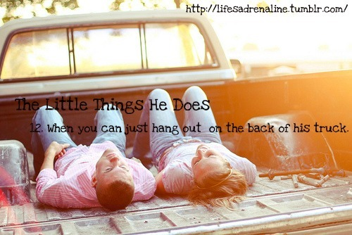 boy, chevy, country, couple, cute, cute couple, girl, hang out, love, lust, the little things he does, thelittlethingshedoes, truck