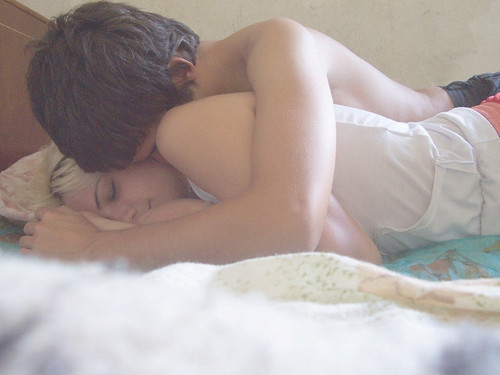 boy, couple, cuddle, cute, girl