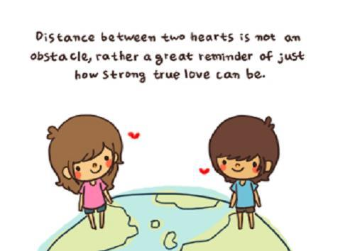 boy, couple, distance, girl, heart, long, love, quotes, strong