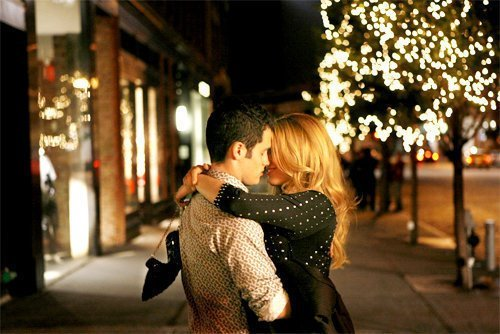 boy, girl, hug, kiss, love, night, street