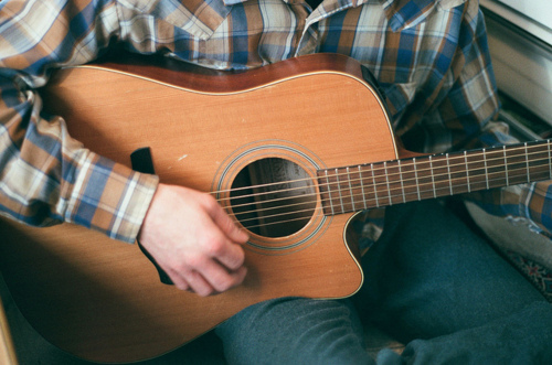 boy, guitar, guy, photography