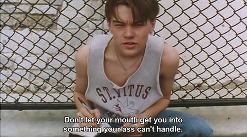 boy, leonardo dicaprio, movie, quote, silm