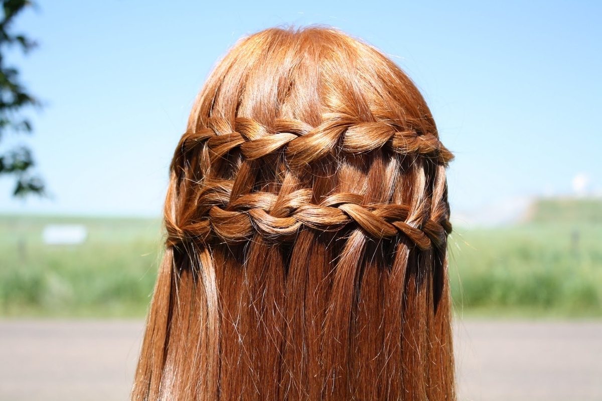 braid, ginger, hair