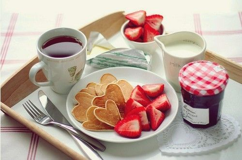 breakfast, butter, cute, england, food, jam, knife, london, milk, photography, strawberries, tea, united kingdom