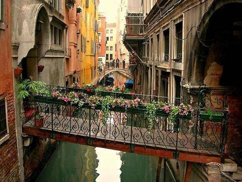bridge, canal, desighn, ornate, romantic