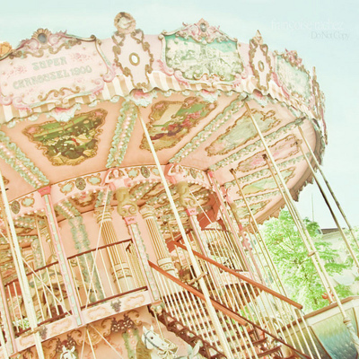 bright, color, colorful, ferris wheel, staircase, vintage, water